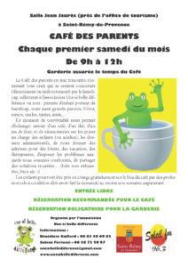 Café des parents @ Salle Jean Jaurès