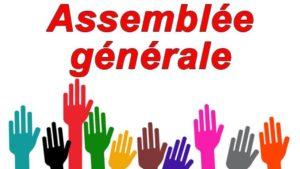 Assemblée Générale @ Chez Bénédicte