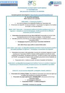 Colloque Habitat Santé Mentale (Avignon 84) @ Salle polyvalente de Montfavet 84100